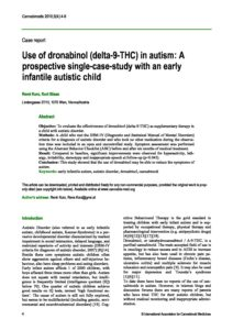 case study of a child with autism A case study of autism spectrum disorder (asd) symptomatology in a child with 15q133 deletion and williams syndrome.