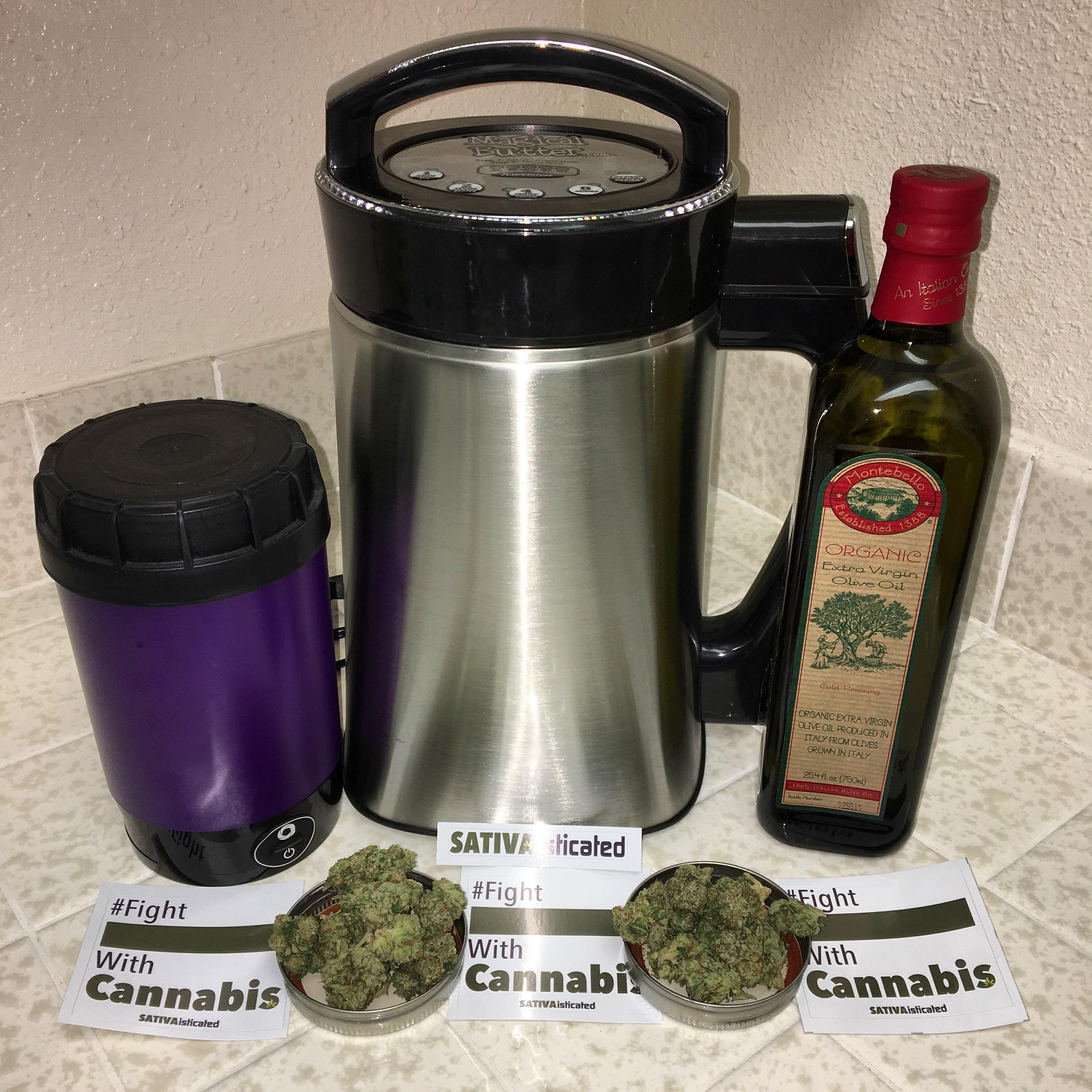 Cannabis Marijuana Infused Olive Oil Preparation Ardent